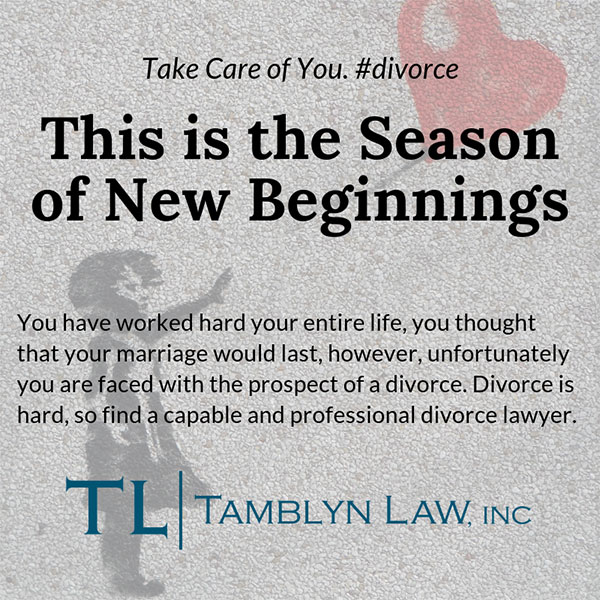 New Beginning After Divorce Banner