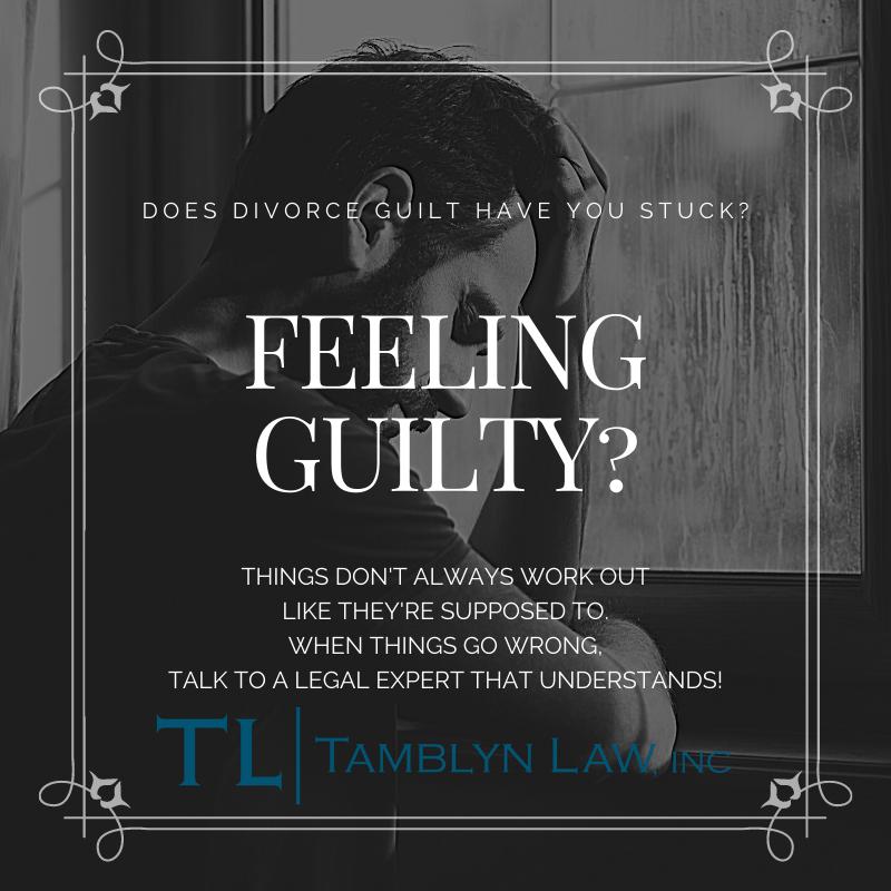 Does divorce guilt have you stuck?